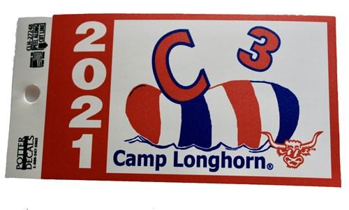 2021 C3 Trunk Sticker