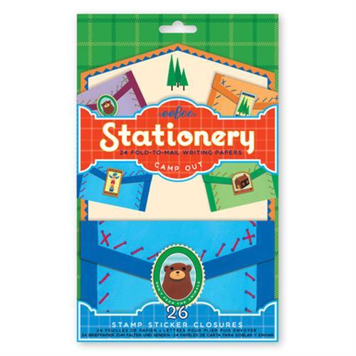 Bear Fold & Mail Stationery Set