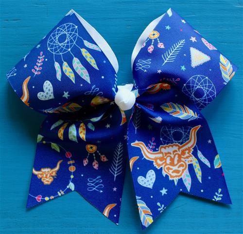 Blue Custom Bow
