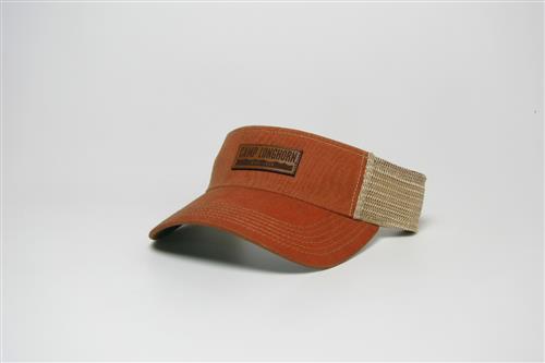 Old favorite visor, orange snapback
