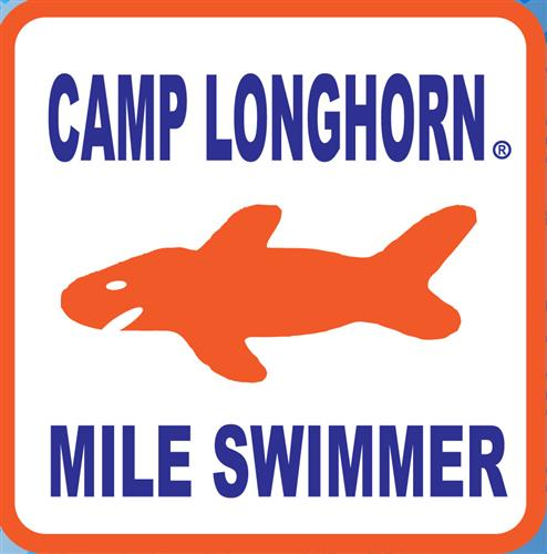 Mile Swimmer Decal