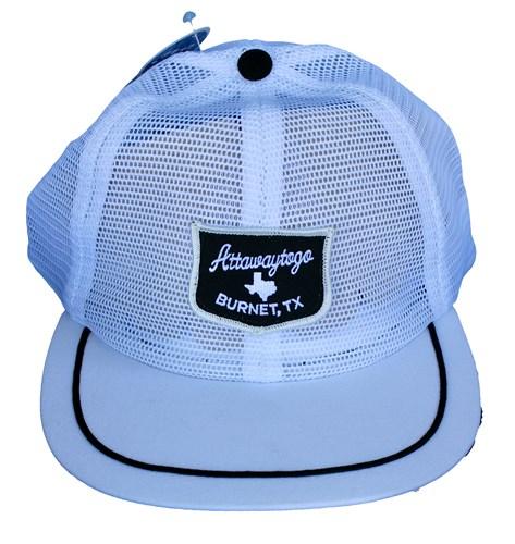 White Mesh Hat
