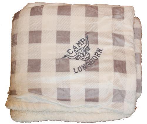Buffalo Plaid Sherpa Blanket