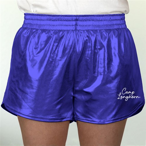 Royal Metallic Shorts