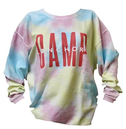 Cotton Candy Ribbed Sweatshirt