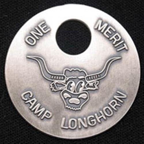 Large Sterling Silver Merit